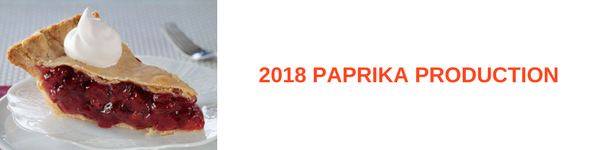 2018 Paprika Production